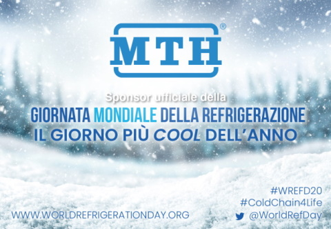 MTH  sponsor ufficiale del World Refrigeration Day !